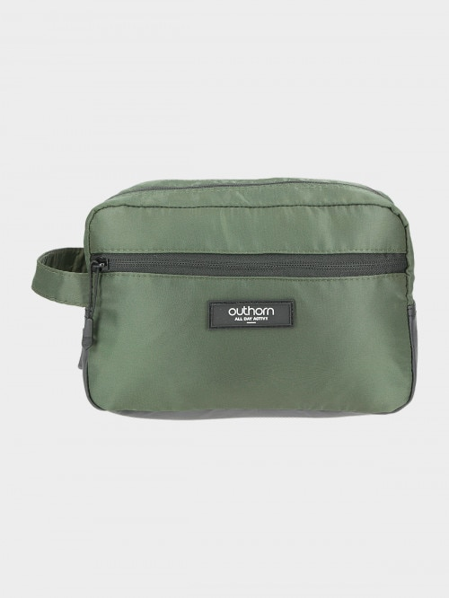 Unisex wash bag AKU601 - khaki