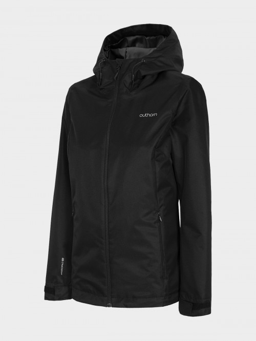 Women's functional jacket KUDT600 - deep black