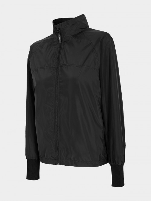 Women's urban jacket KUD602 - deep black