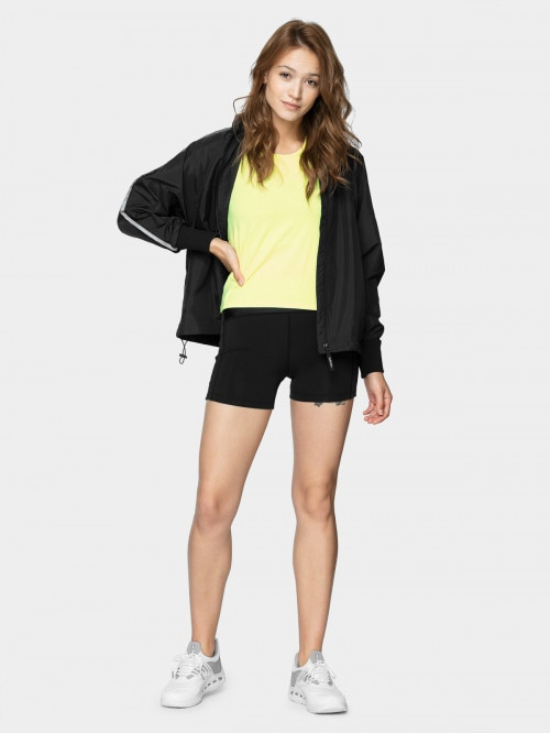 Women's urban jacket KUD602  deep black