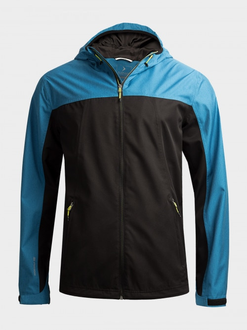 Men's functional jacket KUMT602  blue melange