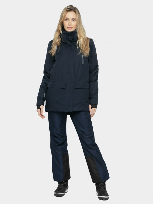 Women's ski jacket KUDn603 - navy