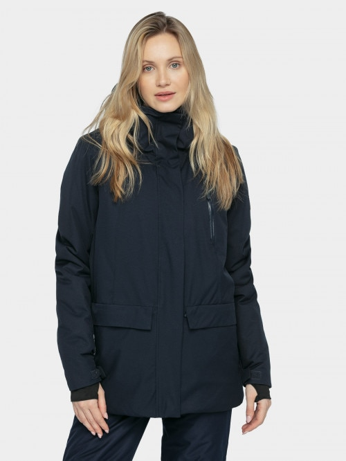 Women's ski jacket KUDn603  navy