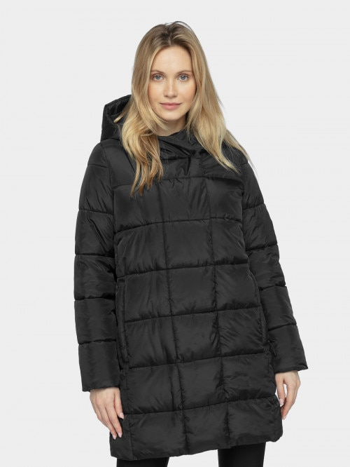 Women's down jacket KUDP604  deep black