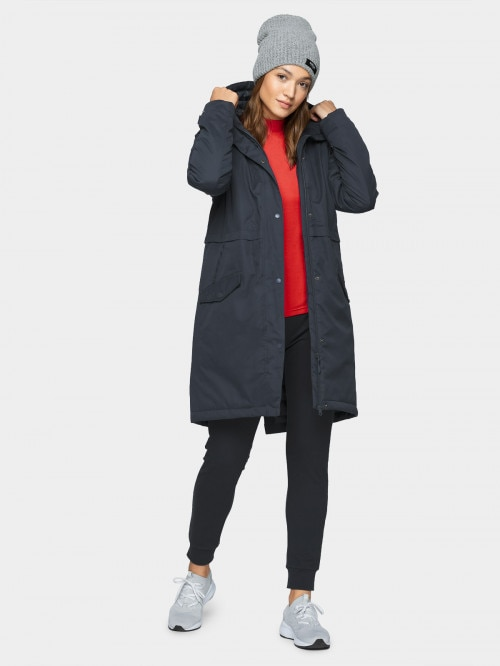 Women's urban coat KUD600  dark blue