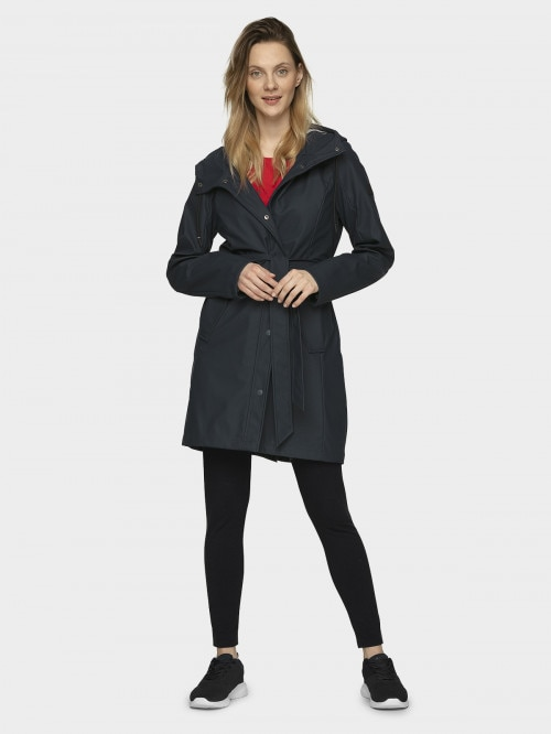 Women's urban coat KUD603  navy