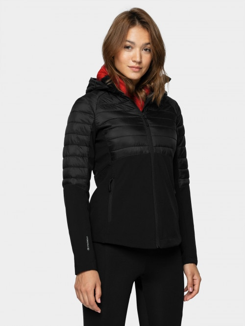 Women's softshell jacket SFD602  deep black