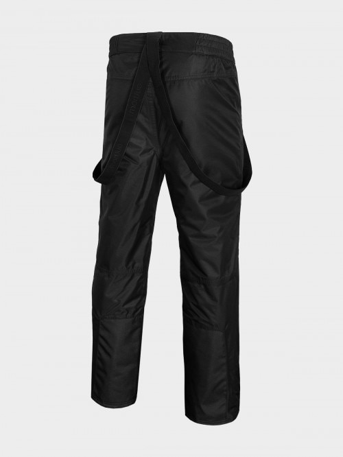 Men's ski pants SPMN600 - deep black