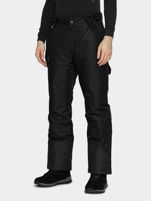 Men's ski pants SPMN600  deep black