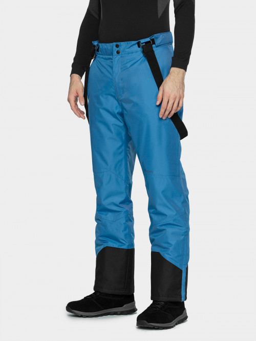 Men's ski pants SPMN600  cobalt