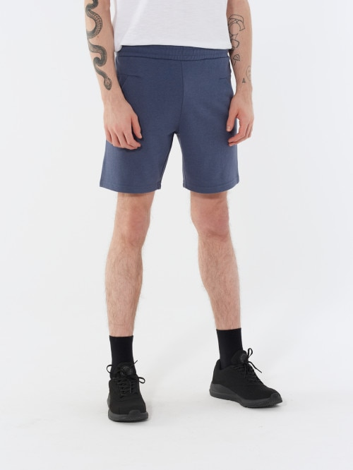 Men's knit shorts SKMD601 - anthracite