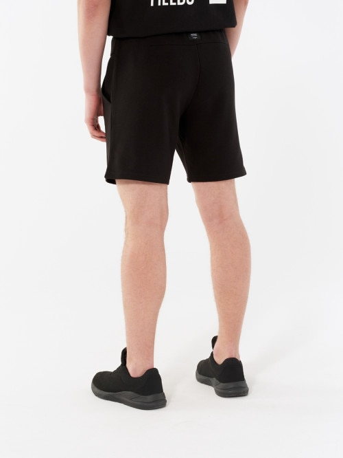 Men's knit shorts SKMD601  deep black